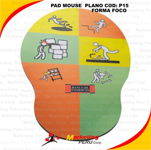 PAD MOUSE PLANO FORMA FOCO